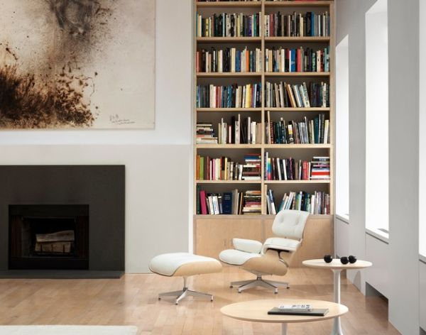 Catch up on your favorite titles while enjoying the comfort of the Eames Lounge Chair!