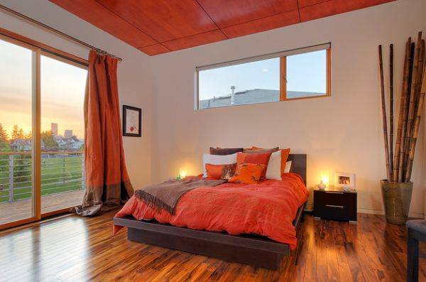 Switching off bedroom colors you should choose to get a good night s sleep - Orange bedroom decorating ideas ...