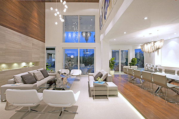 View In Gallery Clean Lines In A Modern Living Room