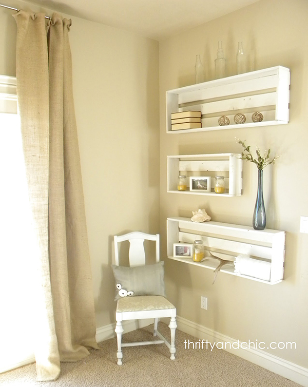 Beautiful diy shelving made easy for Easy diy shelves
