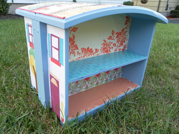 DIY Dresser Dollhouse
