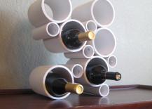 DIY-Modern-PVC-Pipe-Wine-Rack-217x155