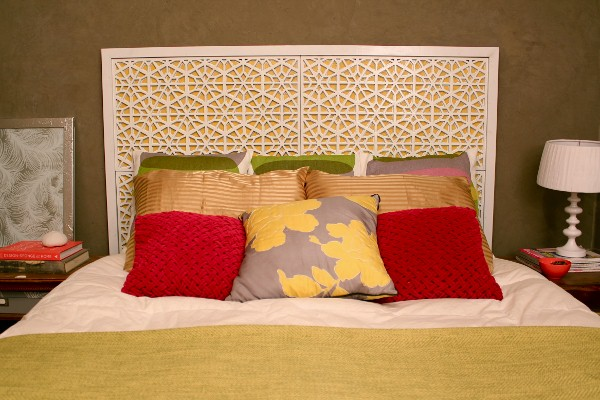 view in gallery diy moroccan headboard - Moroccan Bed Frame