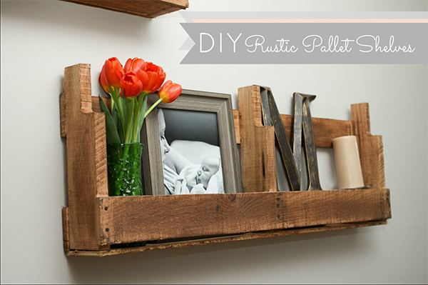 View In Gallery DIY Pallet Shelves