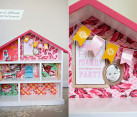 DIY Pink Dollhouse