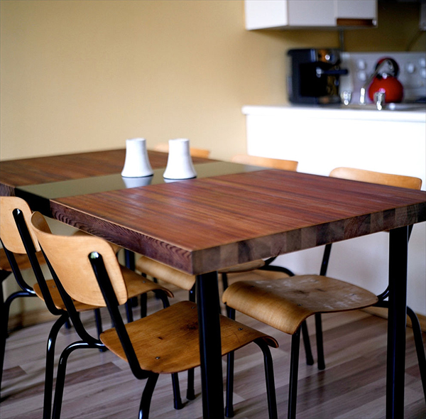 diy reclaimed wood dining table top | Quick Woodworking ...