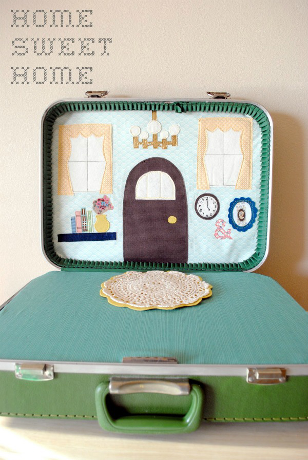 DIY Suitcase Dollhouse