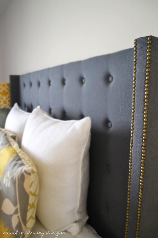 DIY Upholstered Headboard Gorgeous DIY Headboards For a Charming Bedroom
