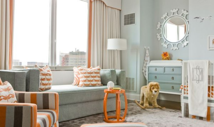 Audacious And Uplifting: Bursts Of Refreshing Orange Accents For Stylish Interiors
