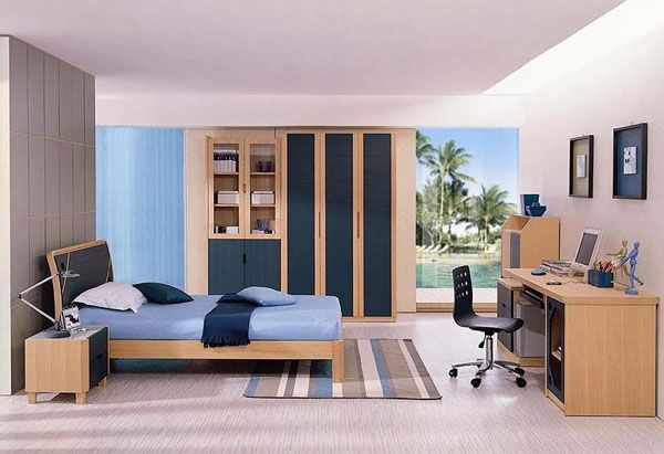 boys bedroom. View In Gallery Elegant Boys  Bedroom For Those Who Prefer A Refined Look 30 Cool And Contemporary Boys Bedroom Ideas In Blue