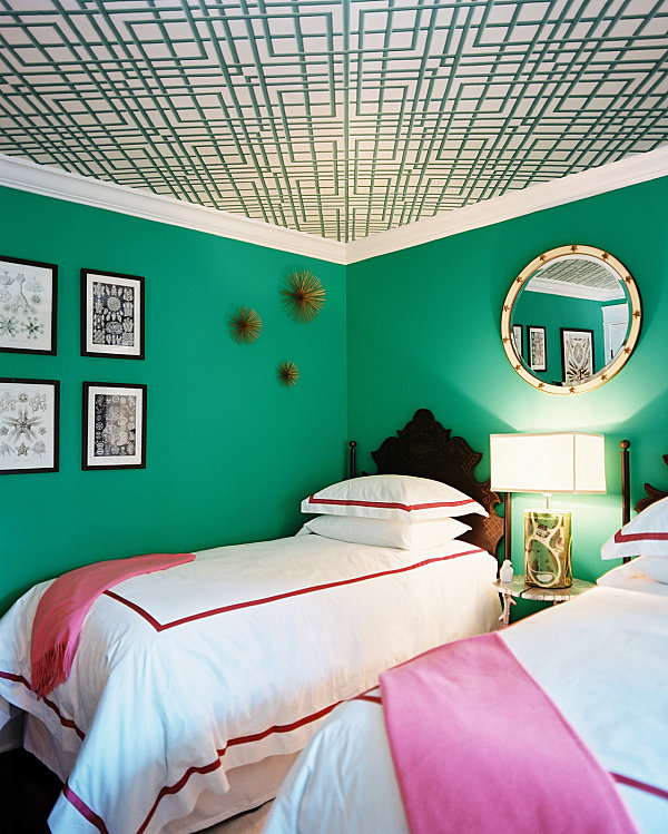 emerald green bedrooms