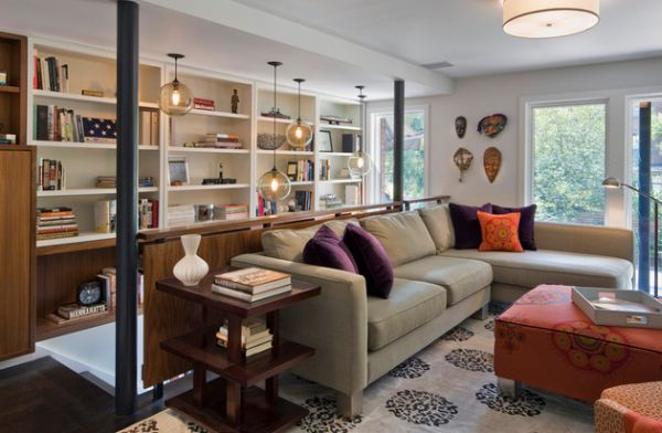 Employ more than one accent color to create more vibrant interiors