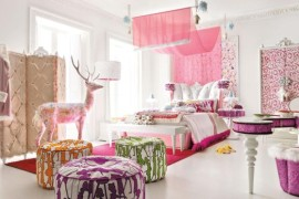 pretty in pink 35 stylish girls bedroom ideas in pink for the contemporary home - Teenage Bedroom Styles