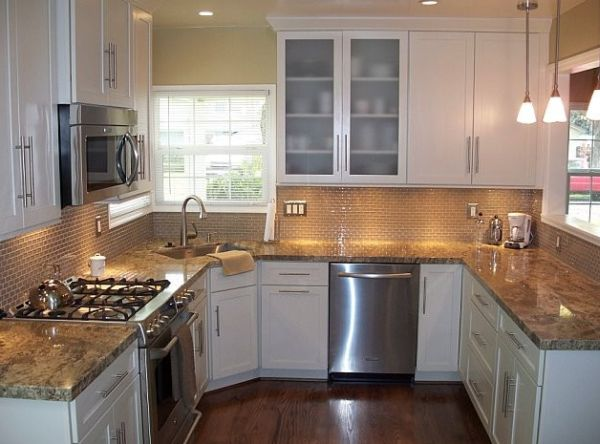 Kitchen corner sinks design inspirations that showcase a for Small kitchen sink cabinet