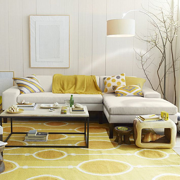 Shades Of Yellow For A Golden Interior