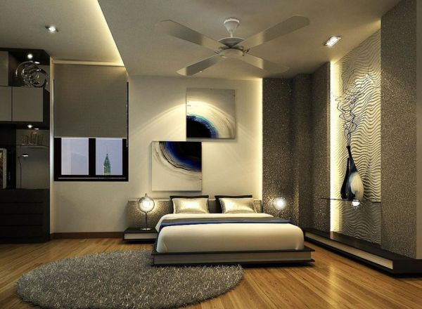 view in gallery gorgeous and glamorous silver bedroom ideal for the contemporary home switching off - Ideal Bedroom Colors