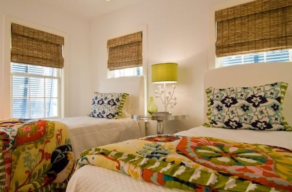 Organic indoors woven wood shades and bamboo blinds for for Blinds for kids rooms