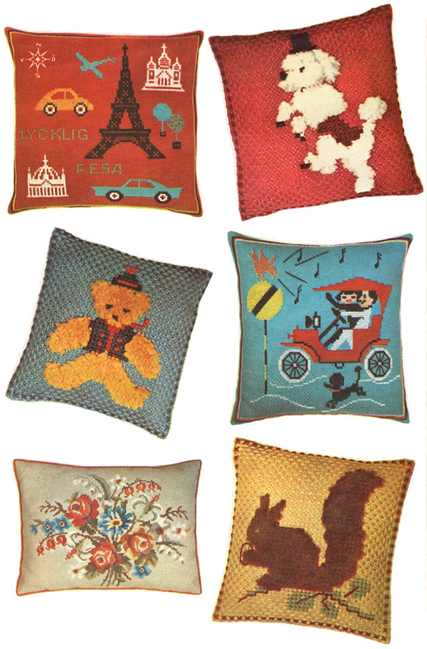 Kitschy Pillows