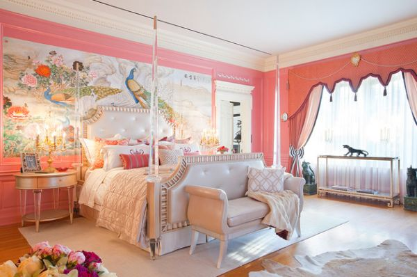 stylish pink bedrooms stylish pink bedrooms ideas 13418