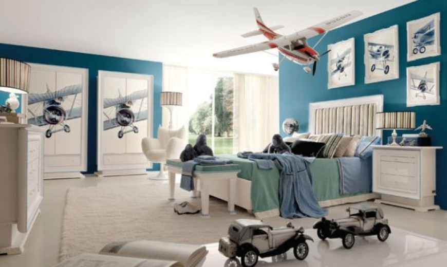 30 Cool And Contemporary Boys Bedroom Ideas In Blue