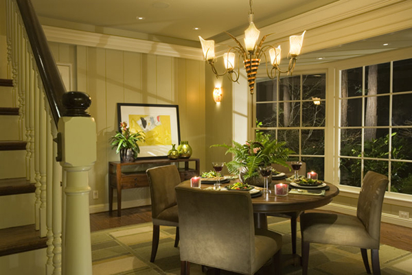 Lighting Design Randall Whitehead Dining Room