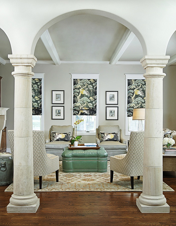 Forecasted interior design trends for 2014 for Interior columns design ideas