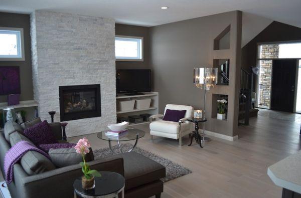 design : steinwand wohnzimmer grau ~ inspirierende bilder von, Deko ideen
