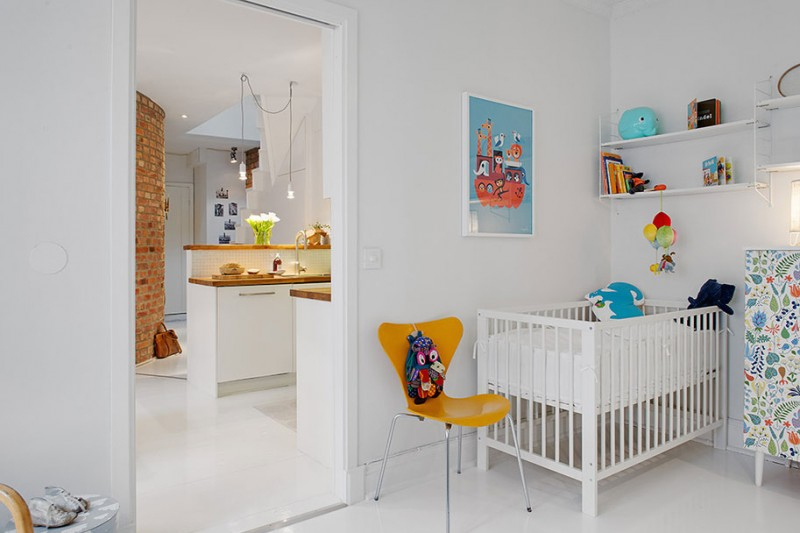 Maisonette nursery room