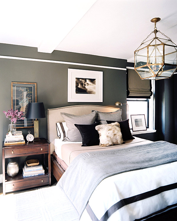 Masculine Interior Decorating: His And Hers: Feminine And Masculine Bedrooms That Make A