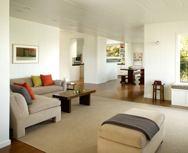 living room interior design Less Is More: Minimalist Interior