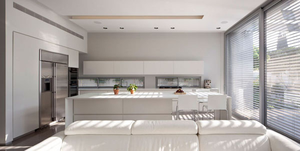 Modern White kitchen (10)
