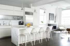 Modern White kitchen (9)