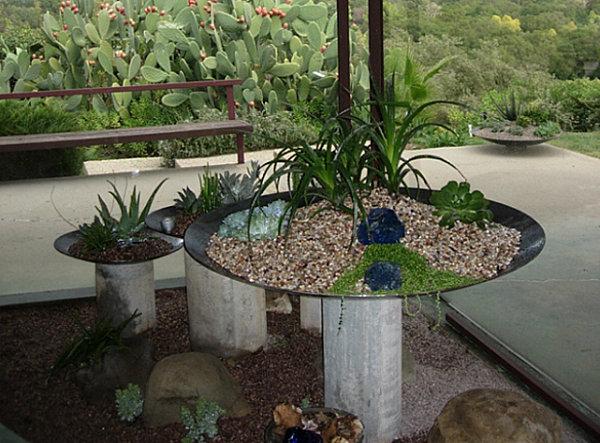 Modern plantscapes