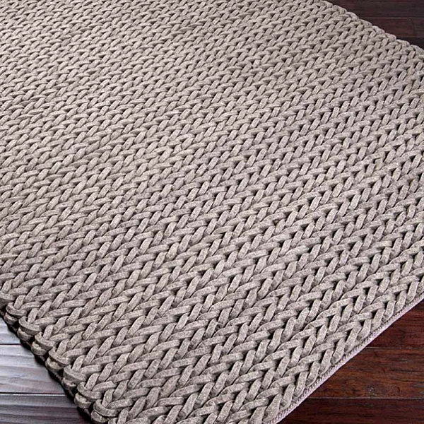 Free Knitted Placemat Patterns : 10 Knit Rugs for the Modern Home