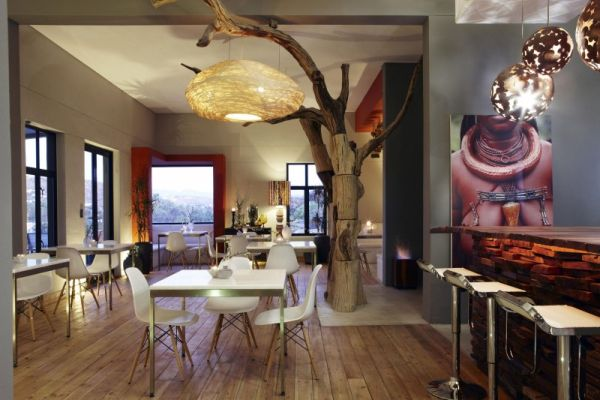 Natural Textures Meet Contemporary Interiors At The Olive Exclusive Hotel In Namibia