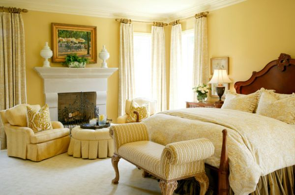 Play with fabric patterns to change the look of your master bedroom effortlessly