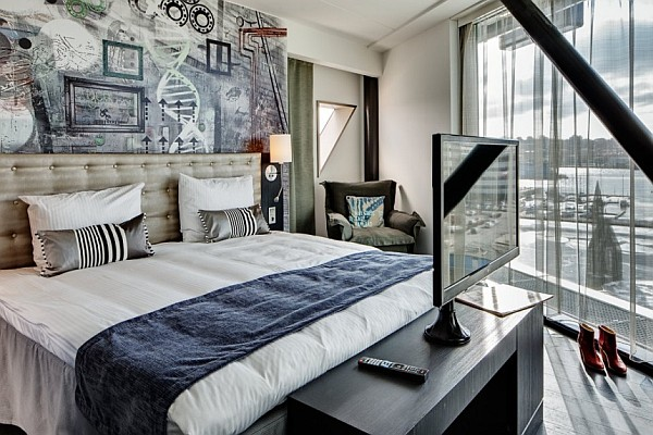 Radisson Blu Riverside Hotel In Sweden Combines Eclectic Interiors With Modern Comforts