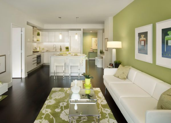Right shade of green can be as soothing and relaxing as any other neutral shade