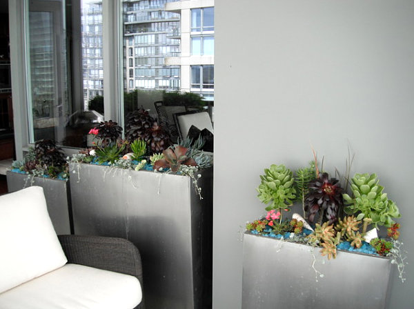 Small balcony in Vancouver