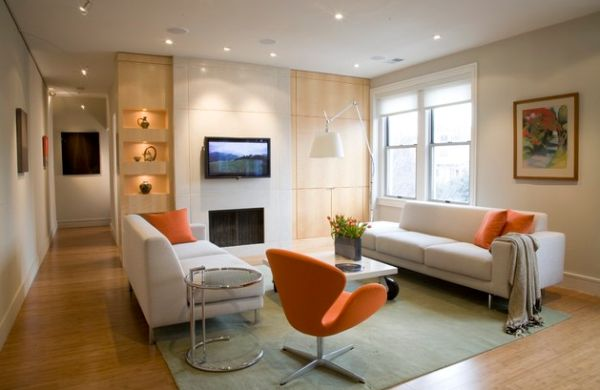 Decorating with orange accents inspiring interiors for Interieur de maison