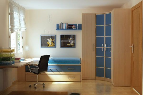 30 cool and contemporary boys bedroom ideas in blue - Cool things for boys room ...