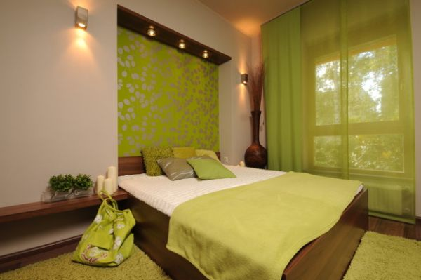 Variety of shades and hues offered by green gives designers great flexibility