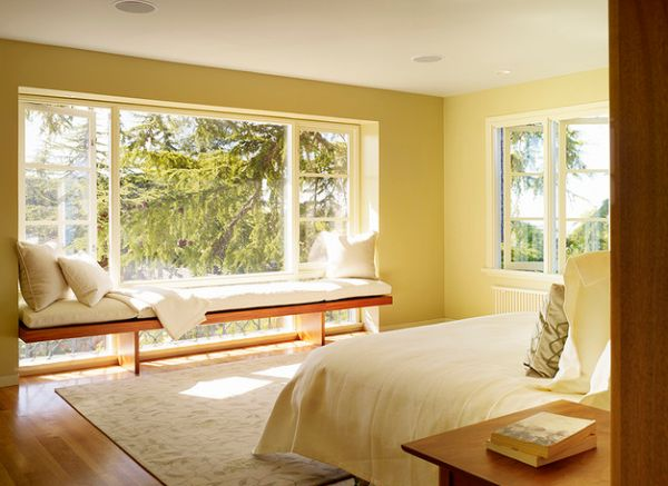 view in gallery warm and inviting bedroom scheme in yellow - Bedroom Colors