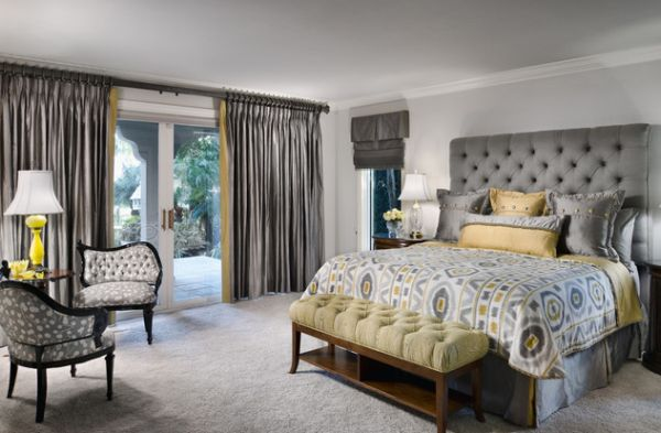 Yellow complements silver beautifully as it adds brightness and vitality