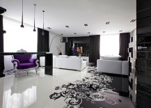 Project Begovaya: Stunningly Stylish Interiors In Striking Black And White!
