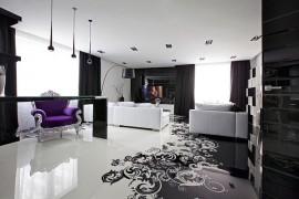 Project Begovaya: Stunningly Stylish Interiors In Striking Black And White!