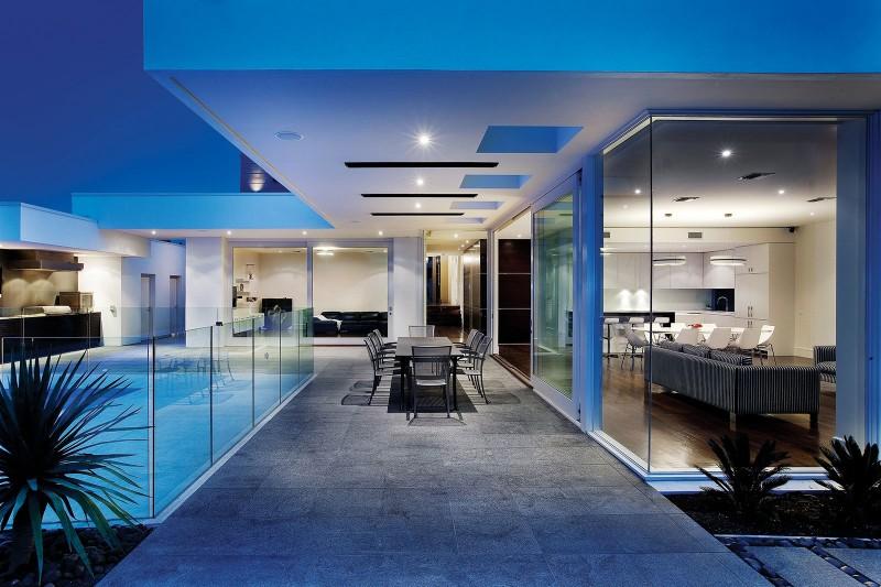 View In Gallery Contemporary Backyard Design