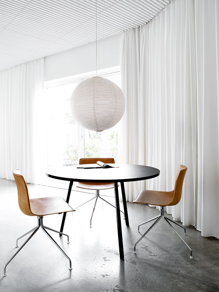 danish design inspiration Danish Summer Residence Stuns With the Simplicity of Its Interior Design