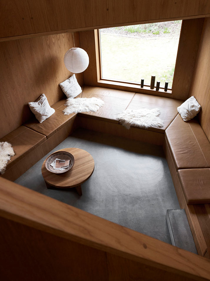 danish design - relaxing area