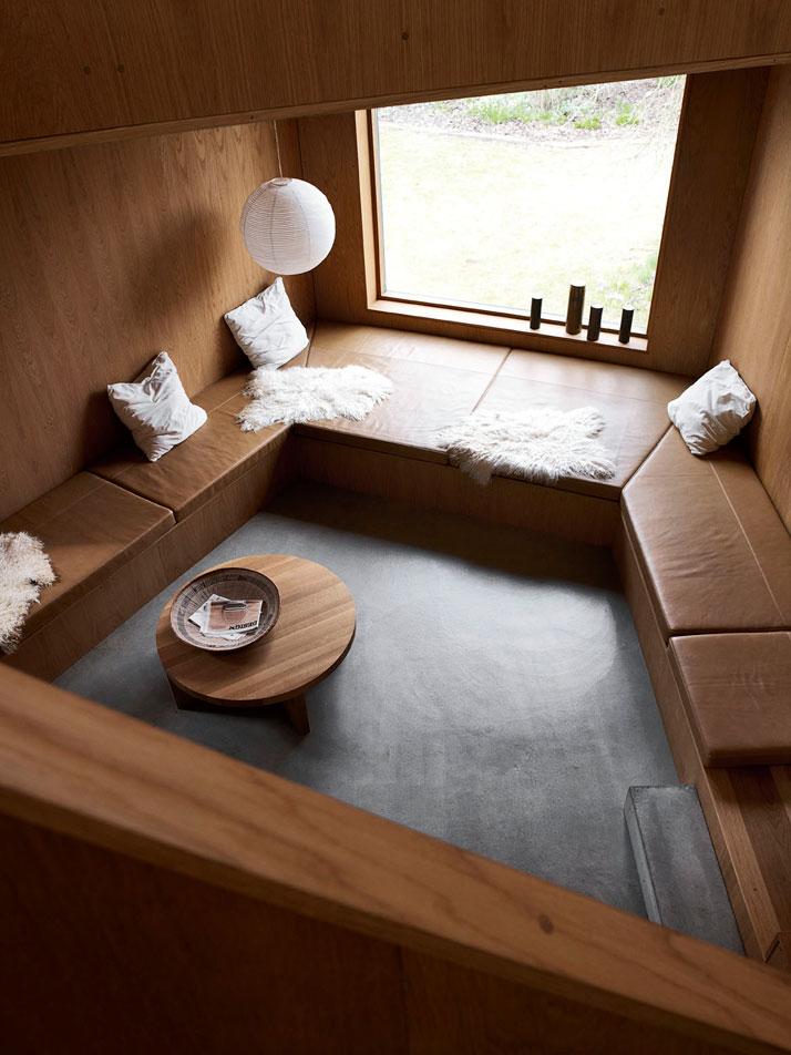 danish design – relaxing area